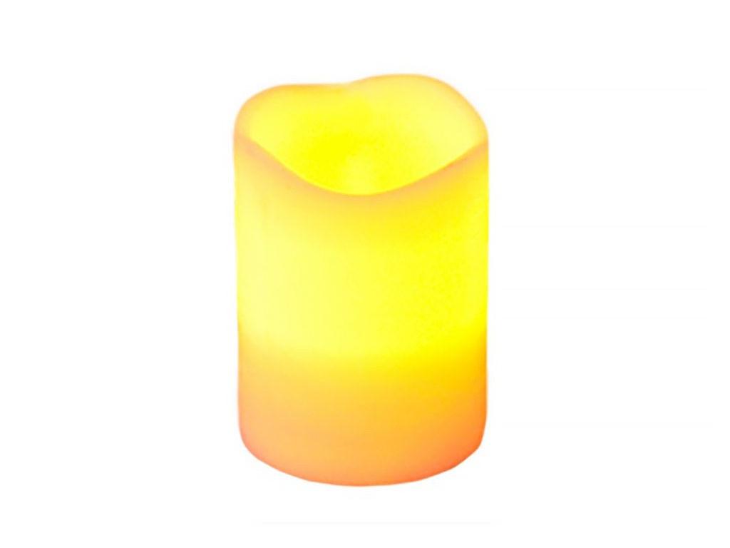 Светодиодная свеча Edelman Классик 10x7.5cm Ivory 372652