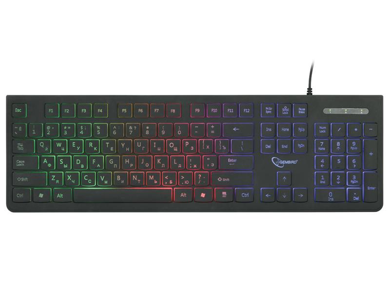 Клавиатура Gembird KB-250L все цены