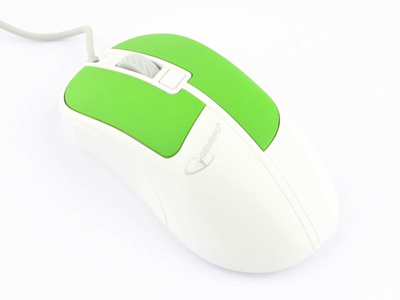 Мышь Gembird MOP-410-GRN