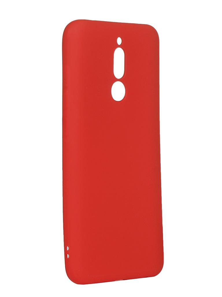 Чехол Svekla для Xiaomi Redmi 8 Silicone Red SV-XIR8-MRED