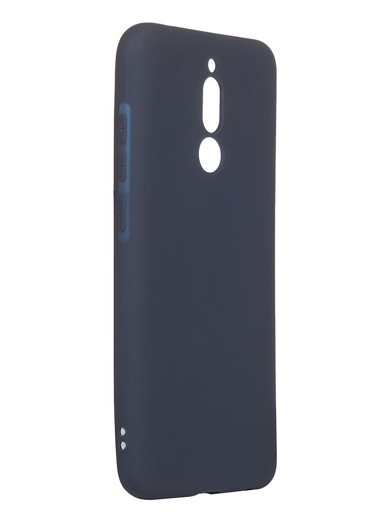 Чехол Svekla для Xiaomi Redmi 8 Silicone Blue SV-XIR8-MDBLUE