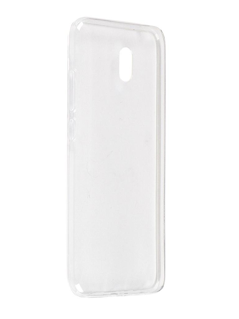 Чехол Svekla для Xiaomi Redmi 8A Silicone Transparent SV-XIR8A-WH