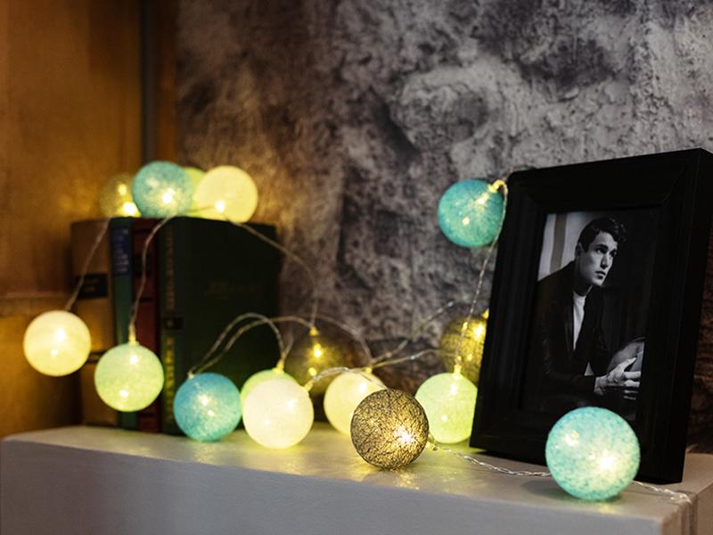 Гирлянда Neon-Night Тайские фонарики Северное сияние 3.5m 20 LED Warm White 303-086