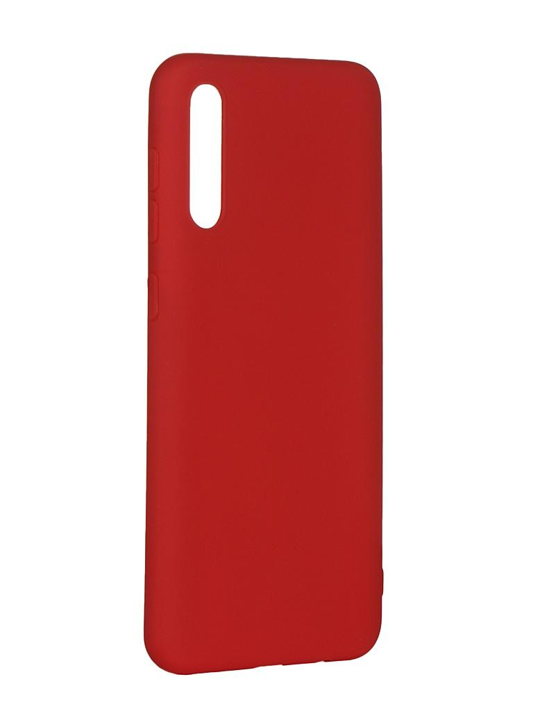 Чехол Pero для Samsung Galaxy A50 Soft Touch Red СС01-A50R