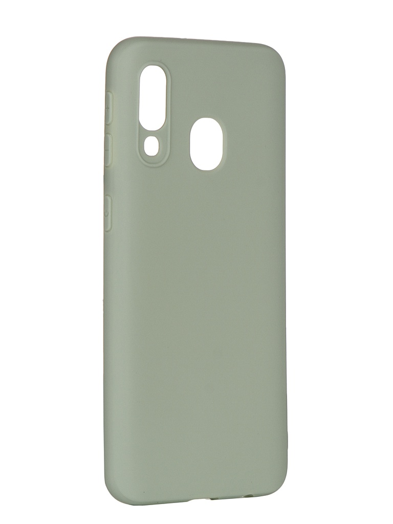 Аксессуар Чехол Pero для Samsung Galaxy A40 Soft Touch Mint СС01-A40GRN