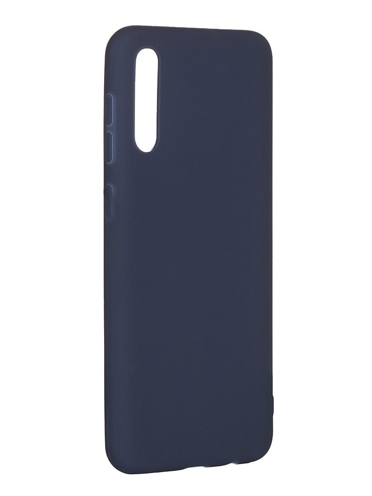 Аксессуар Чехол Pero для Samsung Galaxy A30S Soft Touch Blue СС01-A30SBL