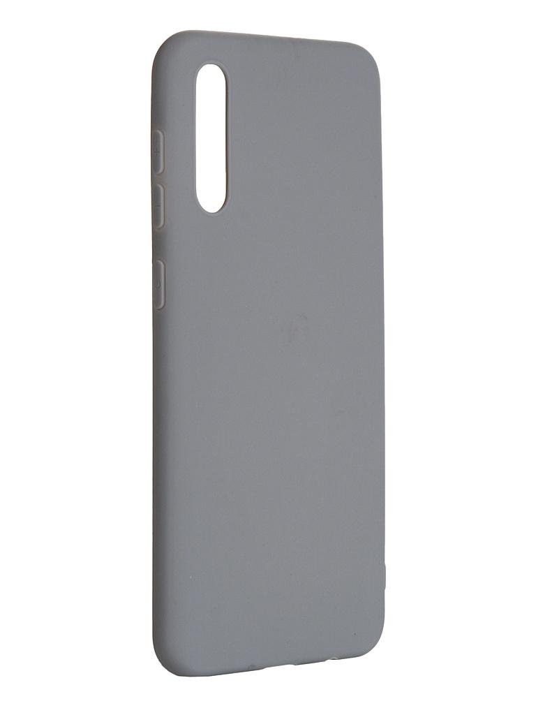 Чехол Pero для Samsung Galaxy A30S Soft Touch Grey СС01-A30SGR