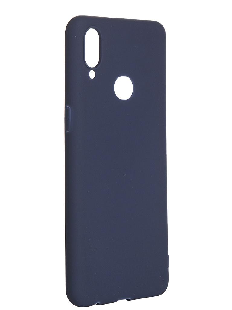 Чехол Pero для Samsung Galaxy A10S Soft Touch Blue СС01-A10SBL