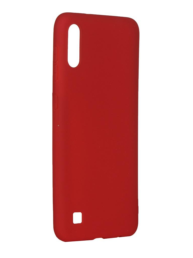Чехол Pero для Samsung Galaxy A10 Soft Touch Red СС01-A10R
