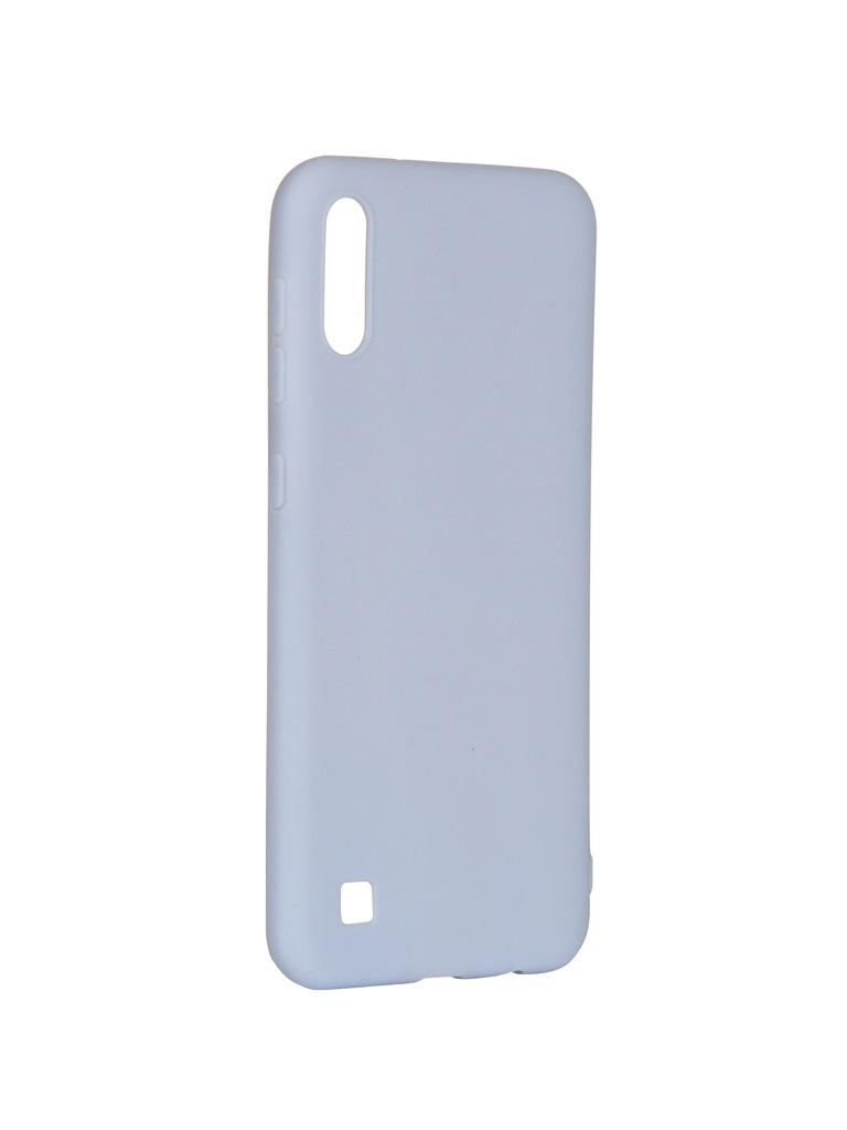 Аксессуар Чехол Pero для Samsung Galaxy A10 Soft Touch Light Blue СС01-A10OB