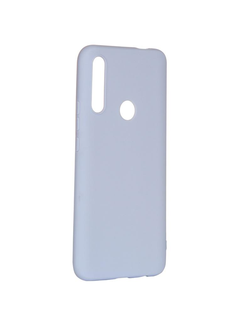 Чехол Pero для Huawei P Smart Z Soft Touch Light Blue CC01-HPSZOB