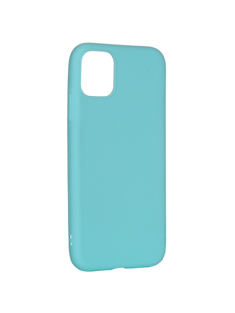 Аксессуар Чехол Pero для APPLE iPhone 11 Soft Touch Turquoise CC01-I6119C