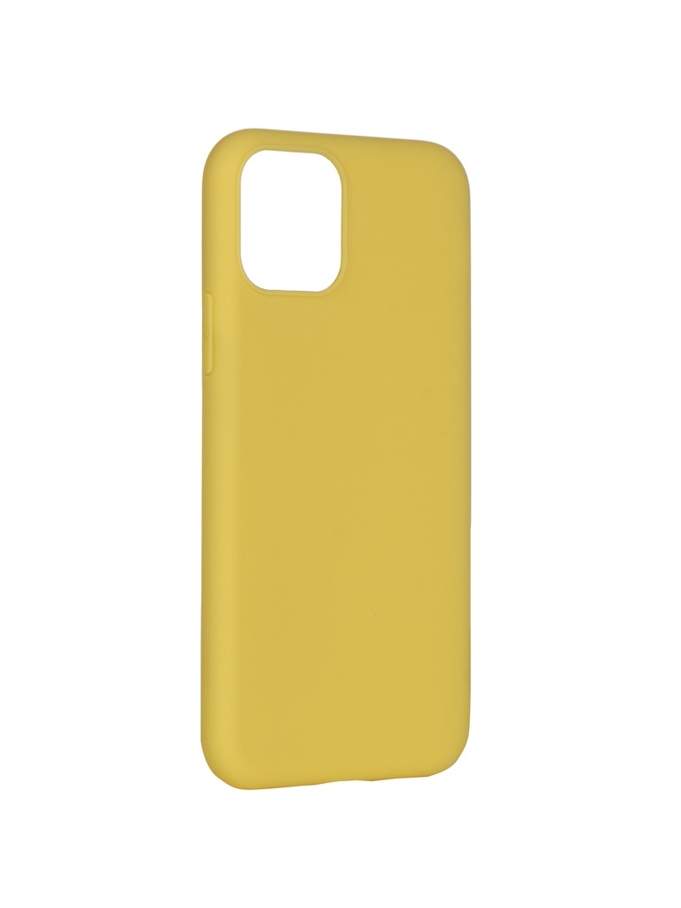Чехол Pero для APPLE iPhone 11 Pro Soft Touch Yellow CC01-I5819Y