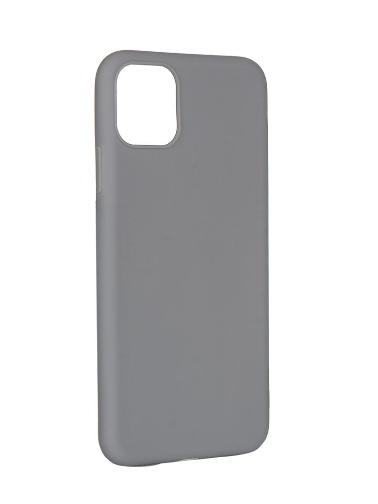 Чехол Pero для APPLE iPhone 11 Pro Max Soft Touch Grey CC01-I6519GR