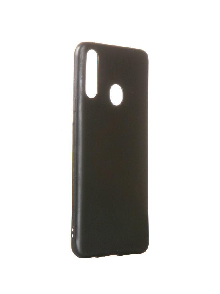 Чехол Liberty Project для Samsung Galaxy A20s TPU Silicone Black 0L-00044894