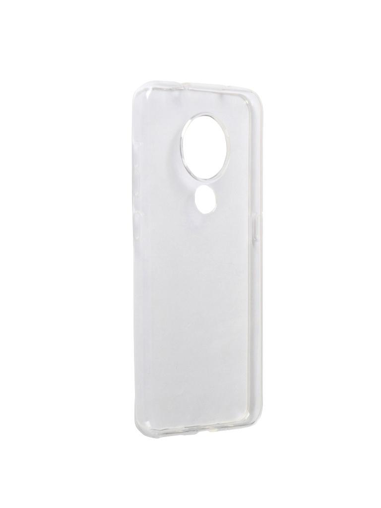 Аксессуар Чехол Liberty Project для Nokia 7.2 TPU Silicone Transparent 0L-00044521