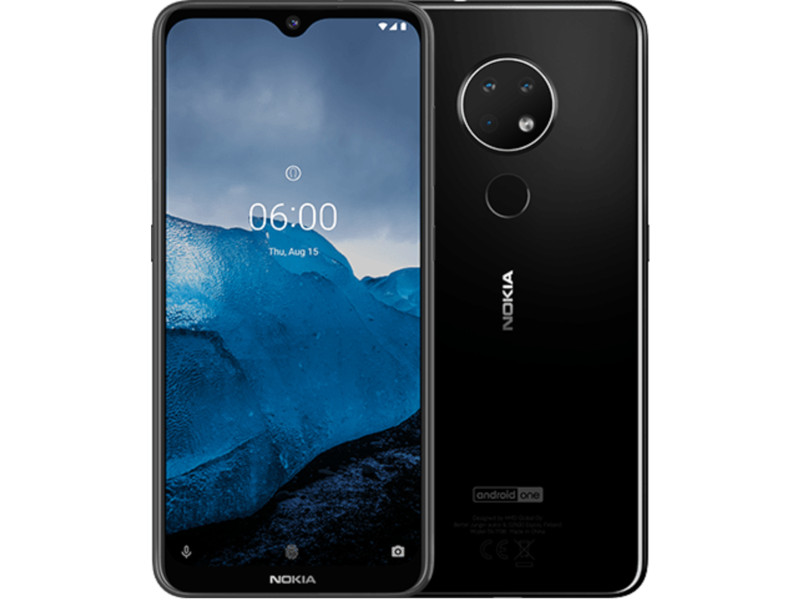Сотовый телефон Nokia 6.2 (TA-1198) Black Выгодный набор + серт. 200Р!!!