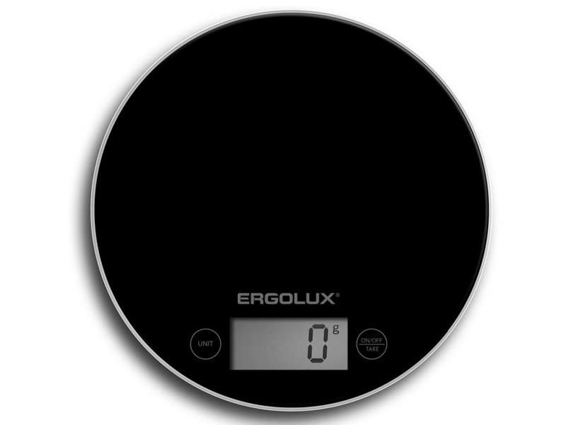 Весы Ergolux ELX-SK03-C02 Black