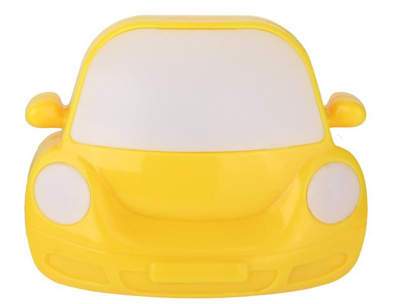 Светильник Camelion Машинка Yellow NL-196