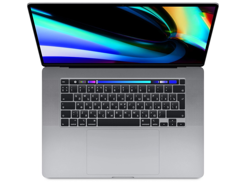 Ноутбук APPLE MacBook Pro 16 MVVK2RU/A Space Grey (Intel Core i9 2.3GHz/16384Mb/1000Gb SSD/AMD Radeon 5500M 4096Mb/Wi-Fi/Bluetooth/Cam/16/3072x1920/Mac OS)