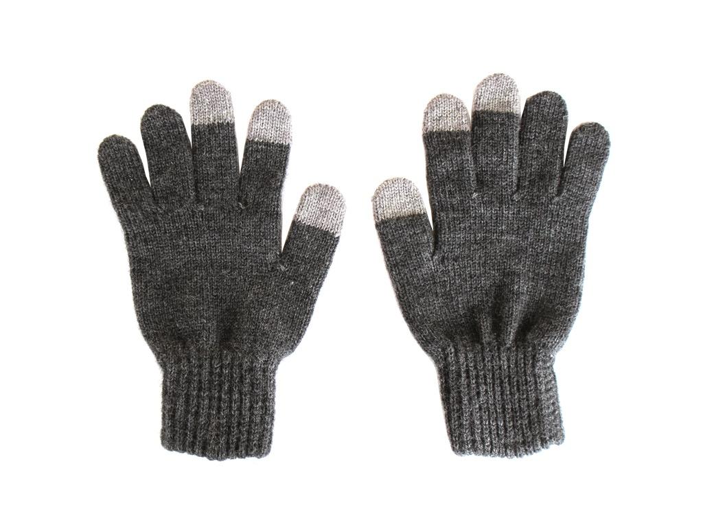 Теплые перчатки для сенсорных дисплеев iGlover Zima L/XL Grey