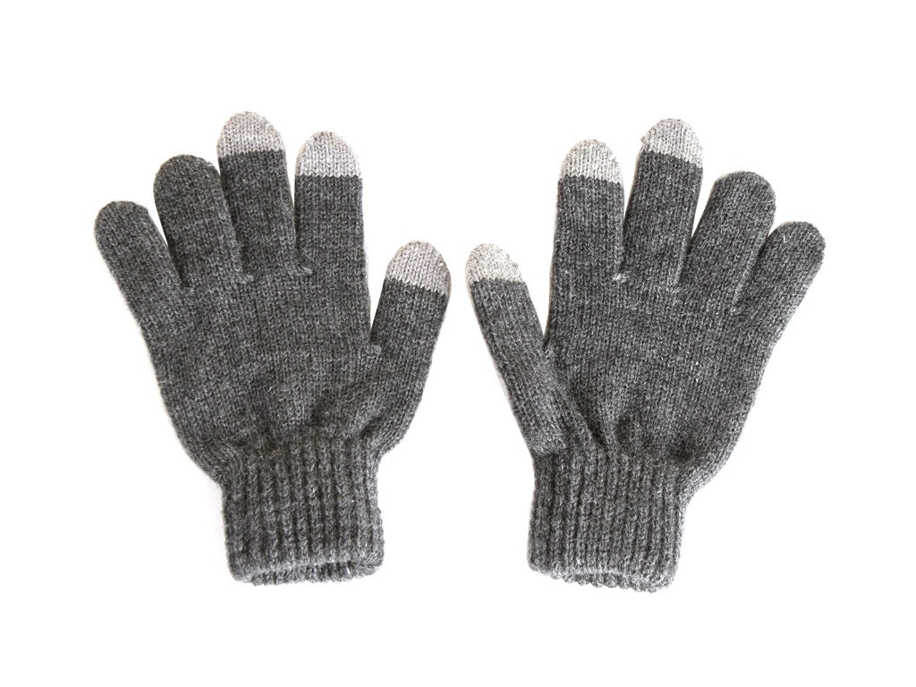 Теплые перчатки для сенсорных дисплеев iGlover Zima S/M Grey