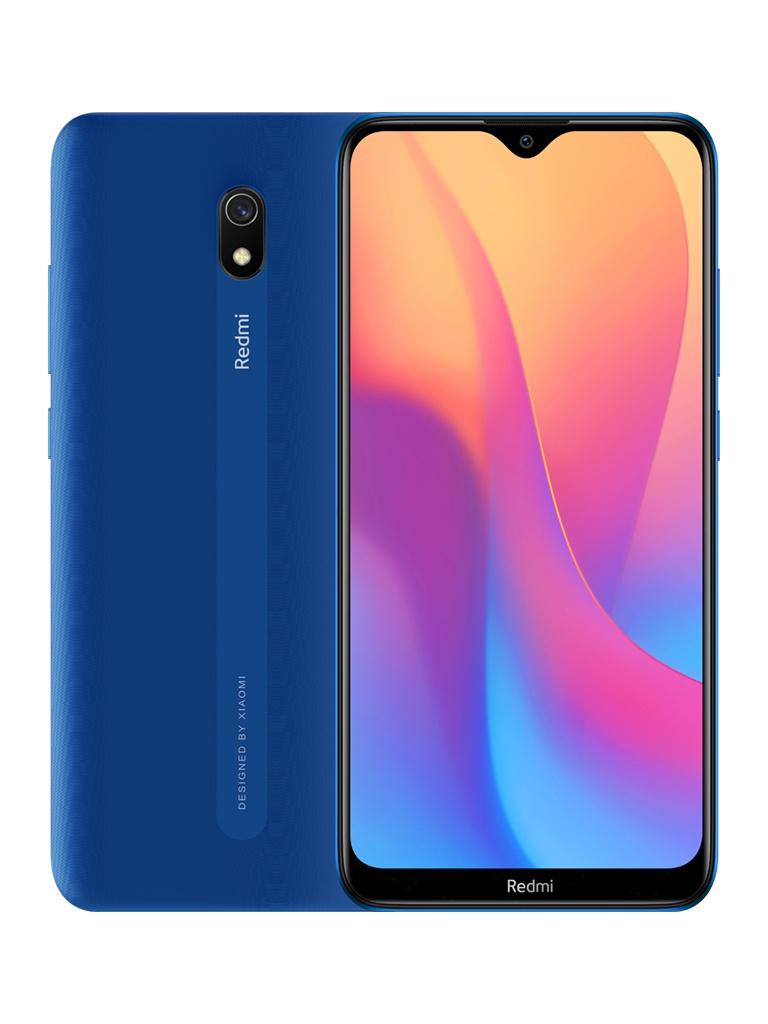 Сотовый телефон Xiaomi Redmi 8A 2/32Gb Blue Выгодный набор + серт. 200Р!!! сотовый