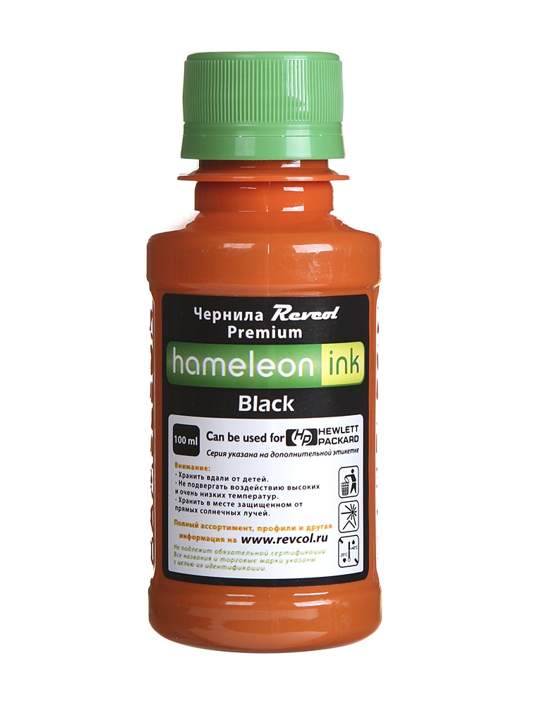 Чернила Revcol Hameleon H970 100ml Black Pigment 129071 для HP PageWide 400/500/700