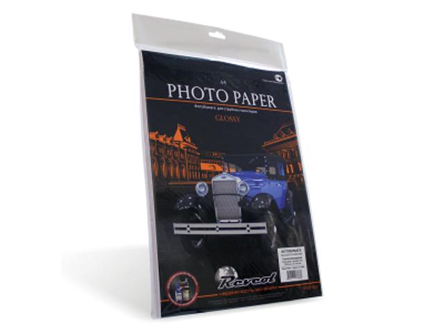 Фотобумага Revcol A4 128g/m2 глянцевая самоклеящаяся 25 листов 127868