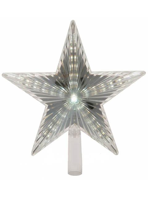 Украшение Kaemingk Верхушка ёлочная Звезда 22cm LED Warm White 152954 / 495201