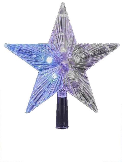 Украшение Edelman Верхушка ёлочная Звезда 22cm LED Warm White 162701 / 1050960WW
