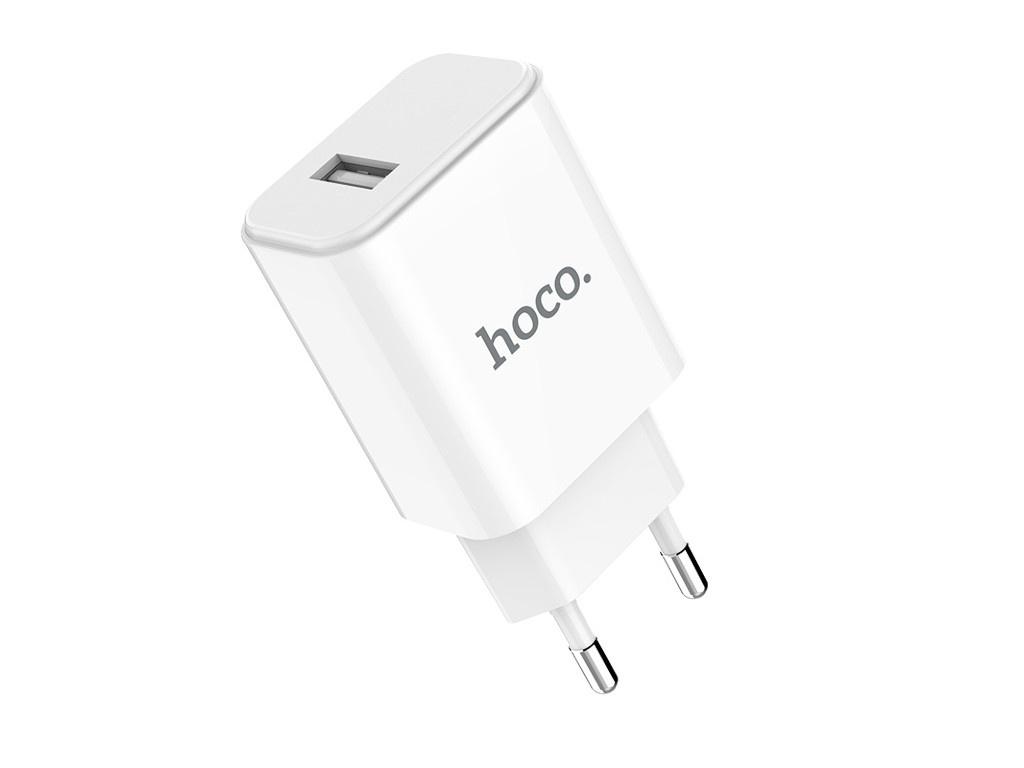 Зарядное устройство Hoco C61A Victoria Single Port White