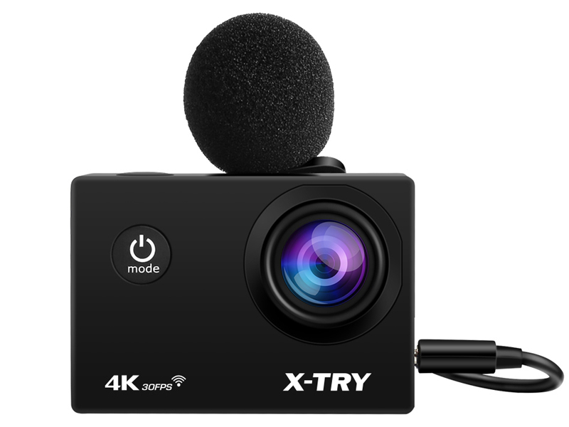 Экшн-камера X-TRY XTC197 EMR 4K WiFi Black