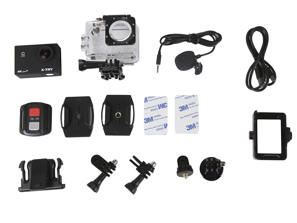 Экшн-камера X-TRY XTC193 EMR 4K WiFi Black