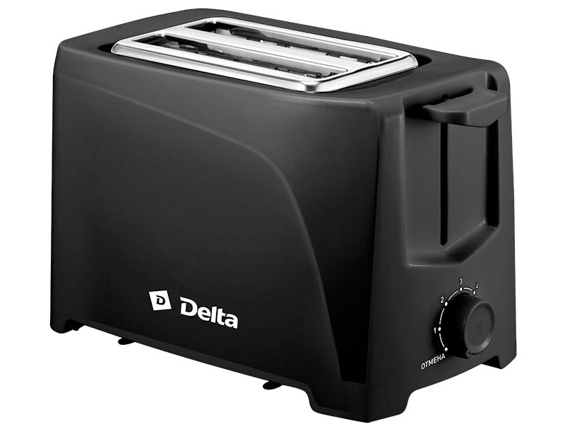 Тостер Delta DL-6900 Black стайлер delta lux dl 0631 black crimson