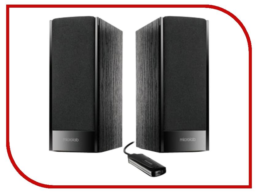 Колонки Microlab B56 USB Black Wooden