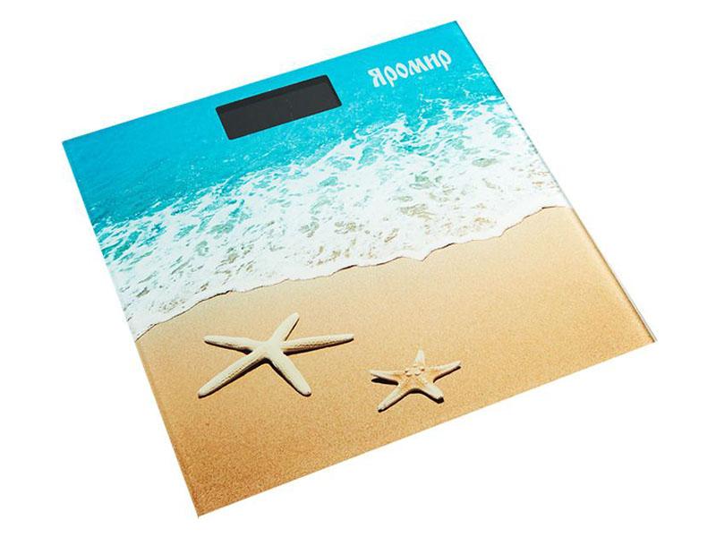 Весы напольные Яромир ЯР-4204 Песчаный пляж