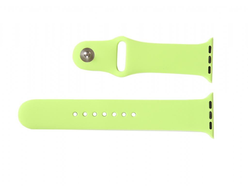 Аксессуар Ремешок mObility для Apple Watch 38/40mm Green УТ000018881