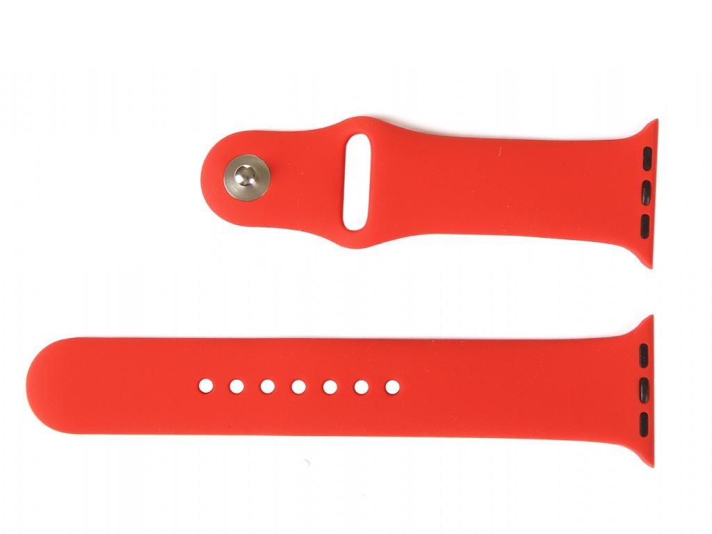 Аксессуар Ремешок mObility для Apple Watch 38/40mm Red УТ000018882