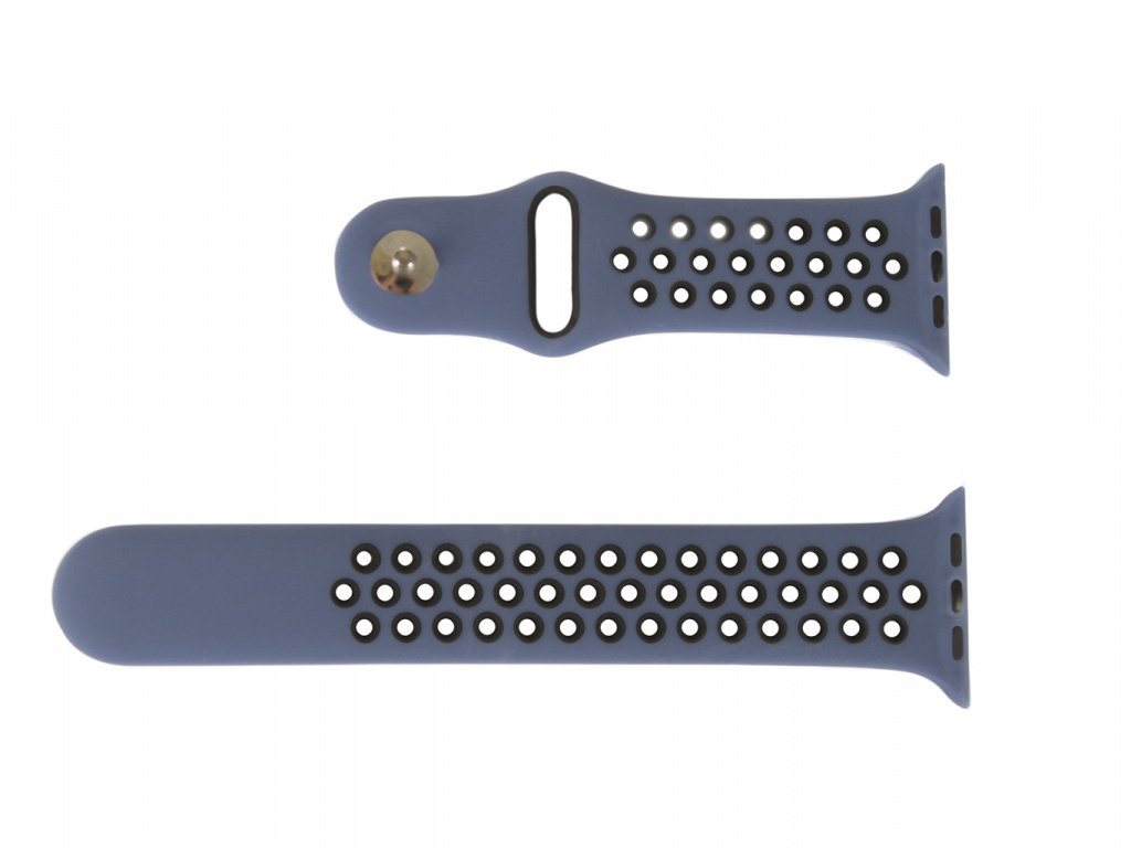 Аксессуар Ремешок mObility для Apple Watch 42/44mm Blue Дизайн 1 УТ000018904