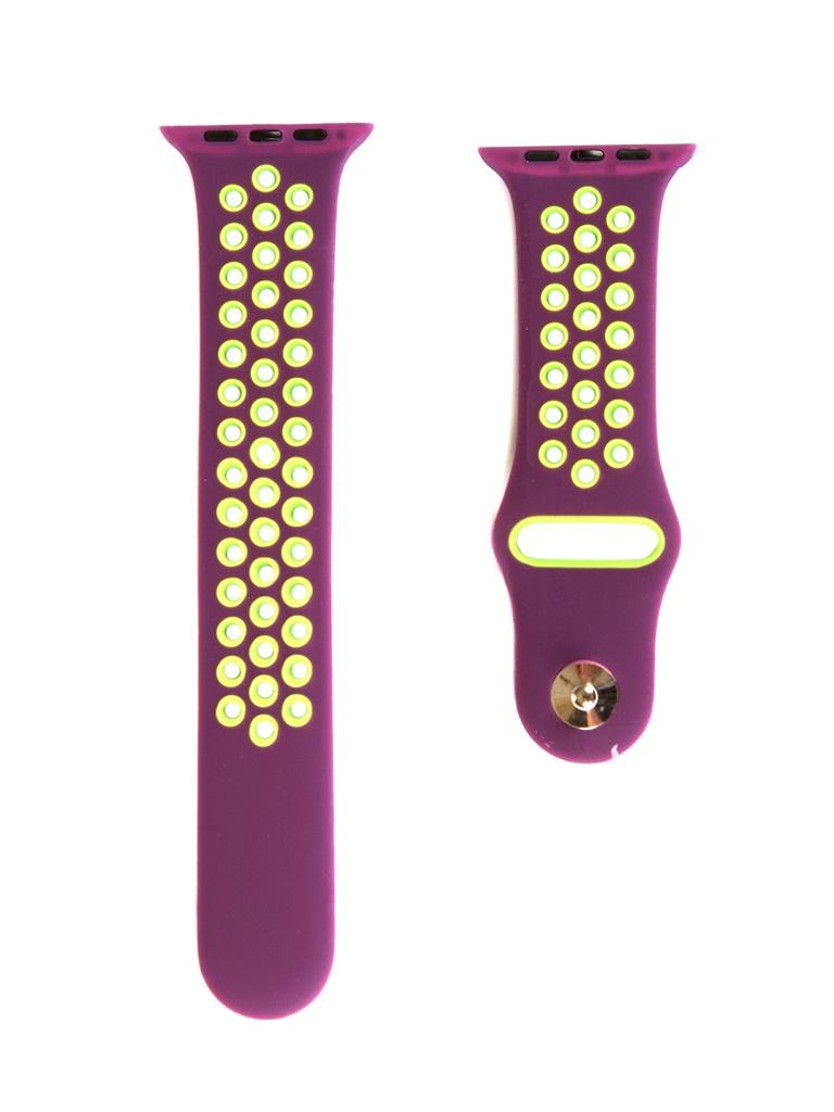Аксессуар Ремешок mObility для Apple Watch 42/44mm Purple Дизайн 1 УТ000018908