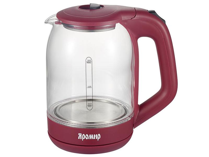Чайник Яромир ЯР-1050 Bordo