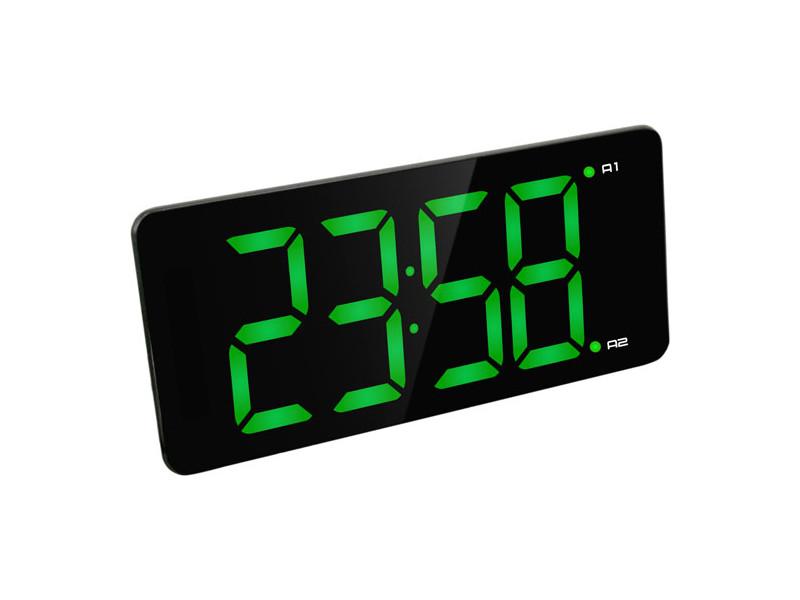 Часы BVItech BV-475GKx Green-Black bvitech электронные настольные часы будильник bv 19gmx