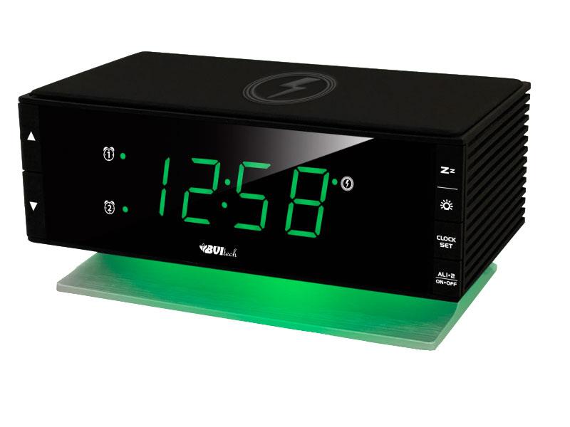 Часы BVItech BV-433GKQ Green-Black bvitech электронные настольные часы будильник bv 19gmx