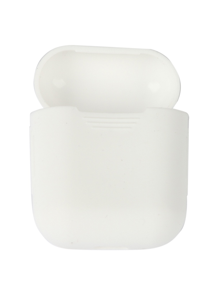 Чехол mObility Apple AirPods Silicone White УТ000018855