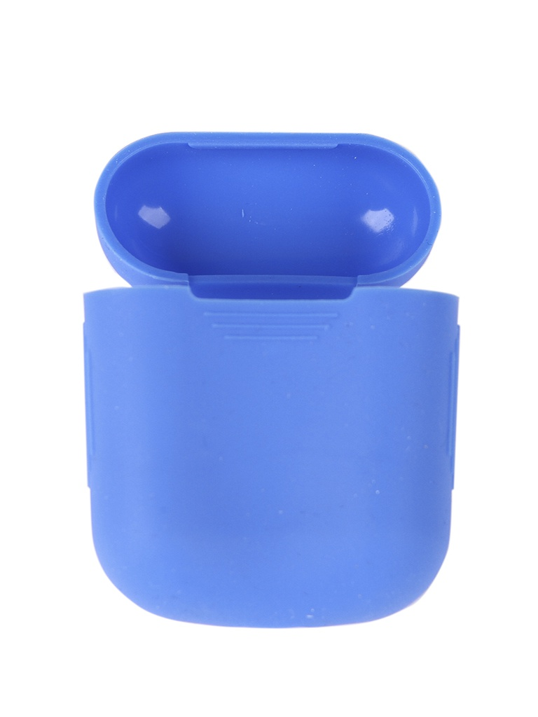 Чехол mObility Apple AirPods Silicone Blue УТ000018858