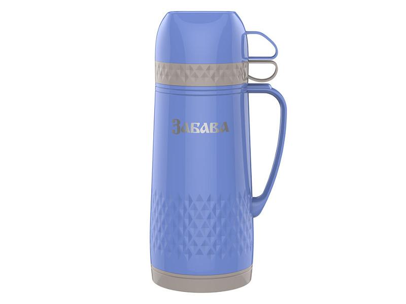 Термос Забава РК-1001 1L Grey-Light-Blue