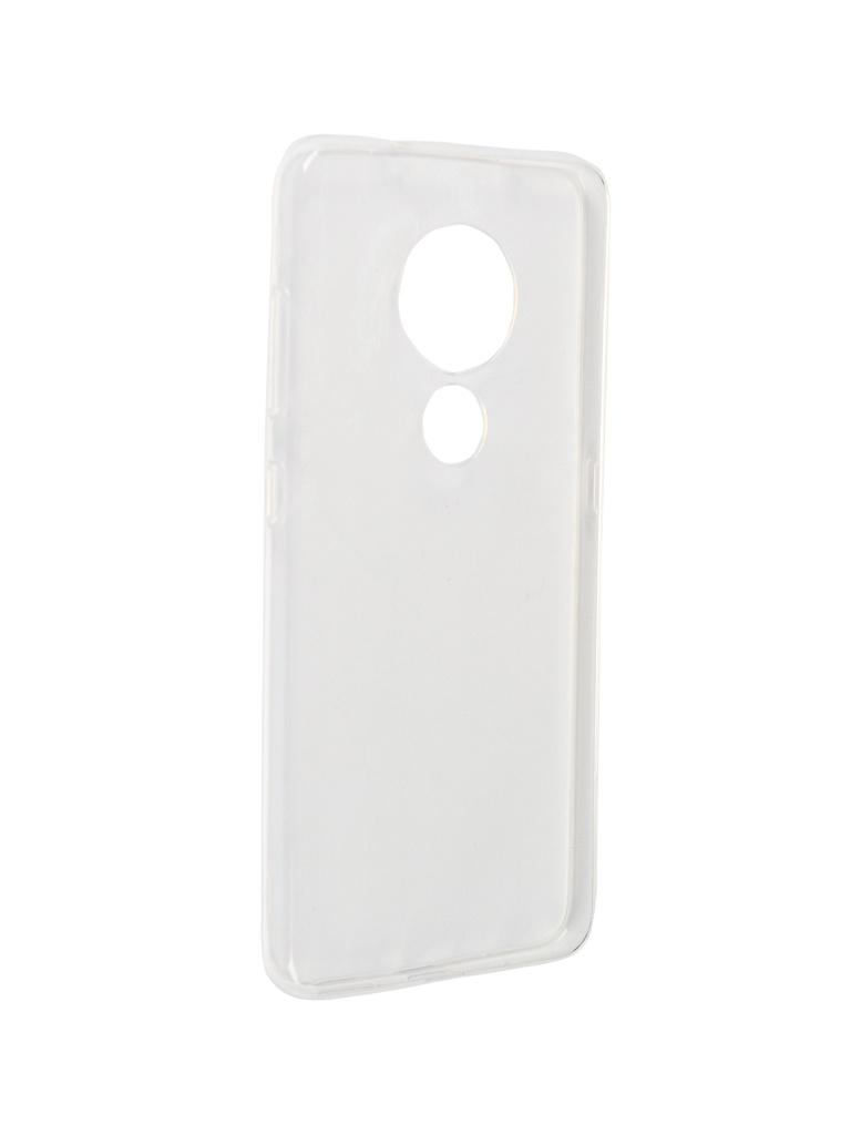 Чехол Zibelino для Nokia 7.2/6.2/6.3 2019 Ultra Thin Case Transparent ZUTC-NOK-7.2-WHT аксессуар чехол для nokia 7 1 2018 zibelino ultra thin case transparent zutc nok 7 1 wht