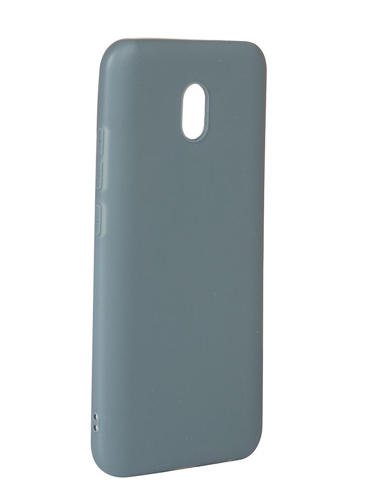 Аксессуар Чехол Zibelino для Xiaomi Redmi 8A 2019 Soft Matte Azure ZSM-XIA-8A-AZU