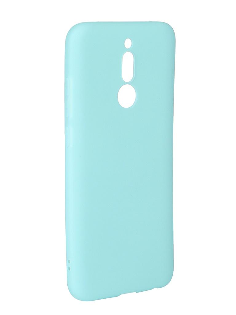 Чехол Zibelino для Xiaomi Redmi 8 2019 Soft Matte Turquoise ZSM-XIA-RDM-8-TQS цена и фото